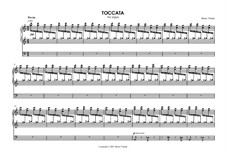 Toccata for organ: Toccata for organ by Bruno Vlahek