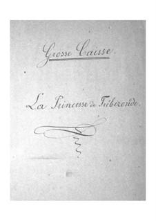 La princesse de Trébizonde: Bass drum part by Jacques Offenbach