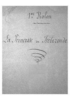 La princesse de Trébizonde: Violins I part by Jacques Offenbach
