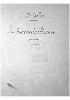 La princesse de Trébizonde: Violins II part by Jacques Offenbach