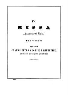 Assumpta est Maria: Kyrie by Giovanni da Palestrina