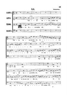 Valde honorandus est: Valde honorandus est by Giovanni da Palestrina