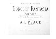 Concert Fantasia for Organ: Concert Fantasia for Organ by Albert Lister Peace