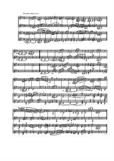 Quartet for Two Arpeggiones and Two Basset Horns, Op.12: Movement II by Dov Rosenschein
