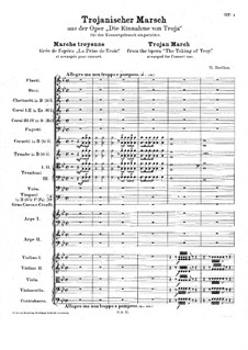 Les Troyens (The Trojans), H.133 Op.29: Trojan March by Hector Berlioz