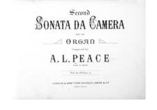 Sonata da camera No.2 in C Minor: Sonata da camera No.2 in C Minor by Albert Lister Peace