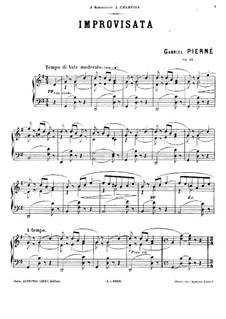 Improvisata, Op.22: Improvisata by Gabriel Pierné