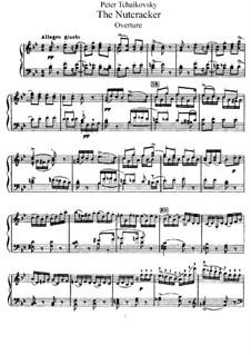 Fragments: Act I, for piano by Pyotr Tchaikovsky