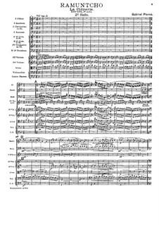 Ramuntcho: Suite No.2 by Gabriel Pierné