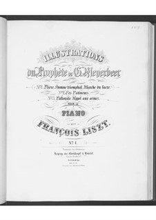 Illustrations on Themes form 'The Prophet' by Meyerbeer, S.414: No.3 Pastorale. Appel aux armes by Franz Liszt