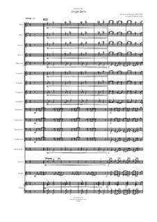 Ensemble version: For big band by James Lord Pierpont
