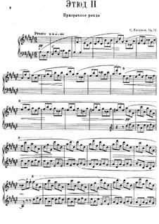Twelve Transcendental Etudes, Op.11: No.2 Ghosts Dance by Sergei Lyapunov