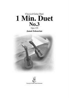 1 Min Duet No.3, Op.139: 1 Min Duet No.3 by Jamal Zohourian