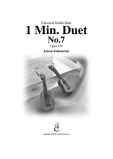 1 Min Duet No.7, Op.139: 1 Min Duet No.7 by Jamal Zohourian