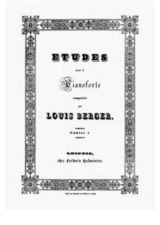 Twelve Etudes, Op.12: Etude No.9 by Ludwig Berger