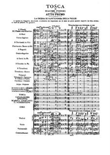 Tosca: Act I by Giacomo Puccini