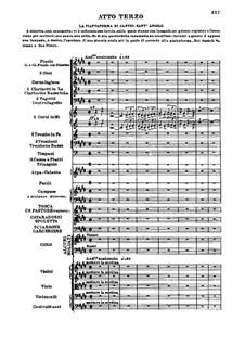Tosca: Act III by Giacomo Puccini