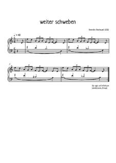 Album für Klavier, Op.23: No.5 Weiter schweben by Florian Bergmann, Benedikt Bindewald