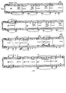 Complete Movements: Piano score by Pyotr Tchaikovsky