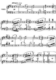 Twenty-Four Characteristic Pieces, Op.36: No.14 Scherzino by Anton Arensky