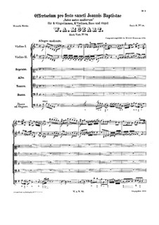Inter natos mulierum, K.72: Inter natos mulierum by Wolfgang Amadeus Mozart