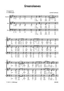 Vocal-instrumental version: SAB by folklore