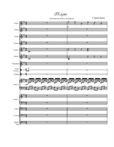 The Swan: For large ensemble by Camille Saint-Saëns