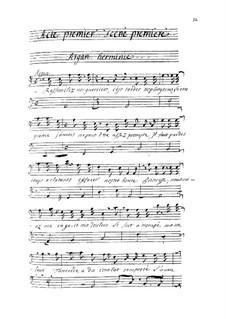 Tancrède: Act I by André Campra