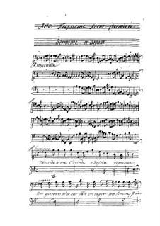 Tancrède: Act III by André Campra
