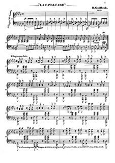 La Cavalcade, Op.19: La Cavalcade by Robert Goldbeck