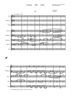 Suite No.4: Real sound notation by Alexander Bystrov