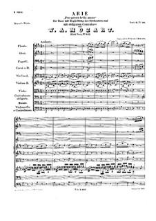 Per questa bella mano, K.612: Per questa bella mano by Wolfgang Amadeus Mozart