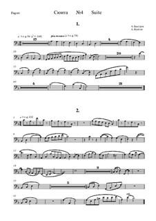 Suite No.4: Bassoon part by Alexander Bystrov