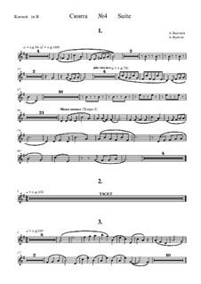 Suite No.4: Cornet part by Alexander Bystrov