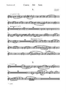 Suite No.4: Tenorhorn part by Alexander Bystrov