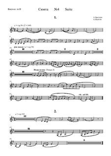 Suite No.4: Baritone horn part by Alexander Bystrov