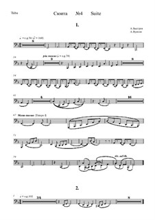 Suite No.4: Bass horn part by Alexander Bystrov
