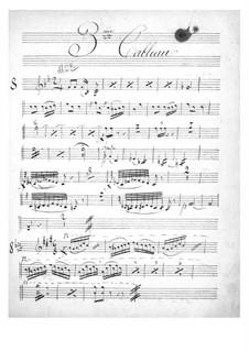 Geneviève de Brabant: Violins II part by Jacques Offenbach