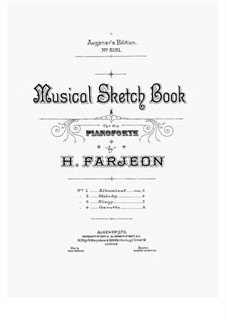 Musical Sketch Book: Musical Sketch Book by Harry Farjeon