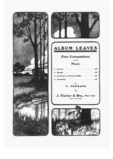 Album Leaves, Op.11: Album Leaves by Giuseppe Ferrata