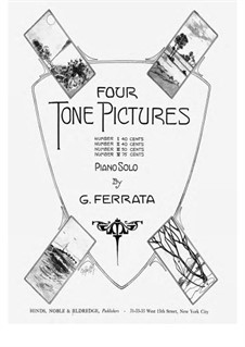 Four Tone Pictures, Op.33: No.1 by Giuseppe Ferrata