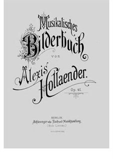Musikalisches Bilderbuch, Op.41: Des Hirten Morgenlied. Piano Right Hand Alone by Alexis Hollaender