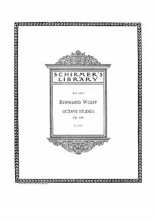 Octave Studies, Op.106: Octave Studies by Bernard Wolff