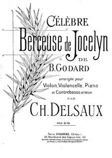 Berceuse: For violin, cello and piano by Benjamin Godard