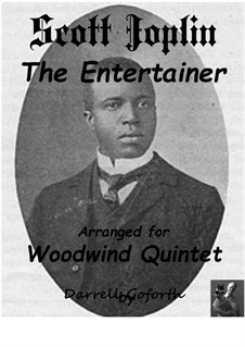 The Entertainer: For wind ensemble by Scott Joplin