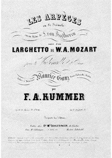 Quintet for Clarinet and Strings in A Major, K.581: Movement II. Arrangement for cello and piano by Wolfgang Amadeus Mozart
