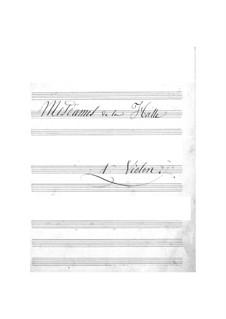 Mesdames de la Halle (The Ladies of the Market): Violins I part by Jacques Offenbach