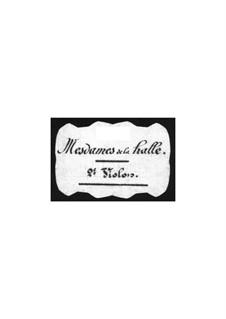 Mesdames de la Halle (The Ladies of the Market): Violins II part by Jacques Offenbach