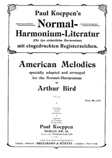 American Melodies: American Melodies by folklore