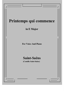 Samson and Dalila, Op.47: Printemps qui commence by Camille Saint-Saëns